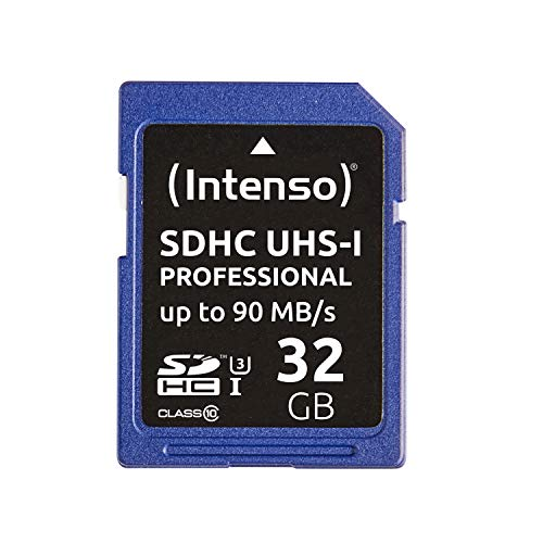 Intenso professional scheda di memoria sdhc da 32 gb, class 10 uhs-i.