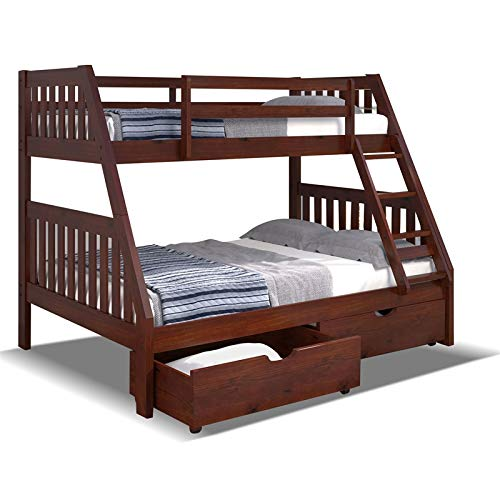 Kids Twin Over Full Bunk Beds