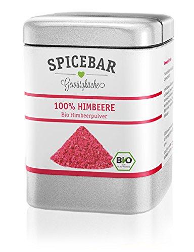 Himbeerpulver, Fruchtpulver gefriergetrocknet aus 100% Himbeere, Bio (1 x 50g)