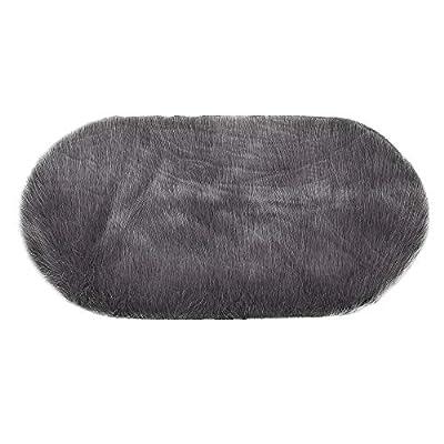 Soft Rug Chair Cover Artificial Sheepskin Wool Warm Hairy Carpet Seat Mats Rug Shaggy Area Rug