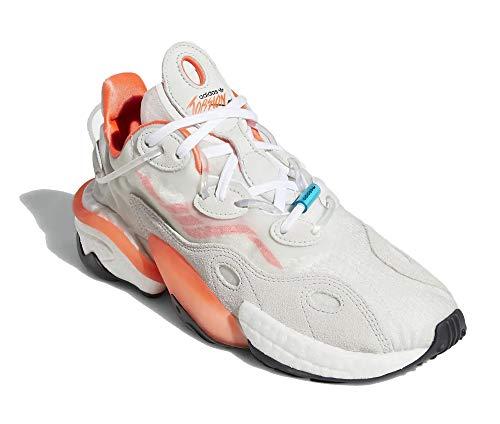 adidas Torsion X - Zapatillas para hombre, color blanco, talla 42
