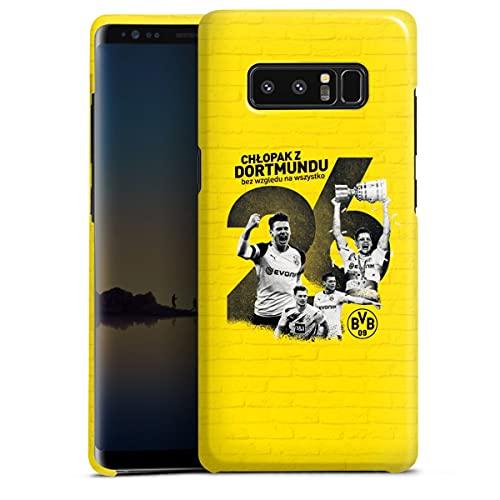 DeinDesign Premium Hülle kompatibel mit Samsung Galaxy Note 8 Duos Smartphone Handyhülle Hülle glänzend Lukasz Piszczek Offizielles Lizenzprodukt Borussia Dortm&