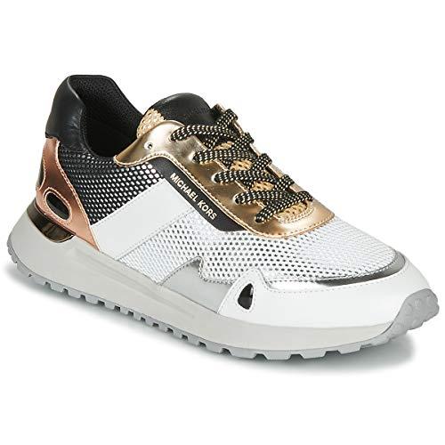 MICHAEL MICHAEL KORS MONROE Sneakers dames Wit/Goud/Roze/Goud Lage sneakers
