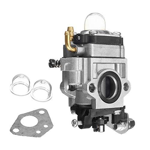 Generic Vergaservergaser für 43 cc, 47 cc, 49 cc, 50 cc, 2-Takt-Motorroller, Motorsense
