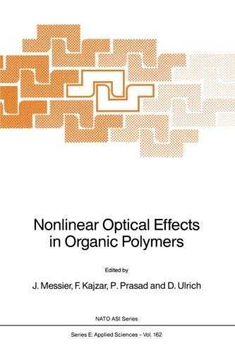 Nonlinear Optical Effects in Organic Polymers (Nato Science Series E: (162), Band 162)