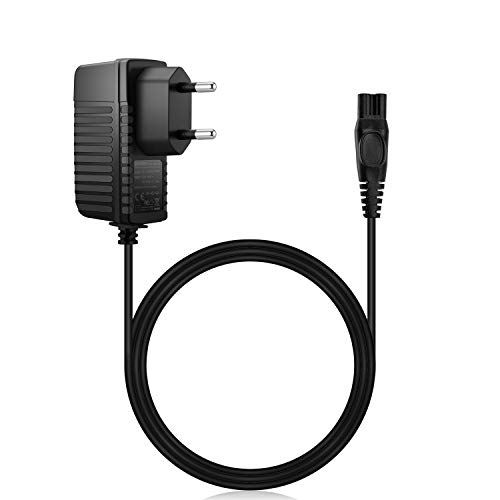 Aukru 15V Ladegerät Netzteil für Philips Rasierer 1150X, 1160CC, 1180X RQ1250,RQ1260,Philips rq11,SensoTouch 2D,3D,Quadra, Cool Skin, Sensotec, Speed-XL, Smarttouch, Arcitec