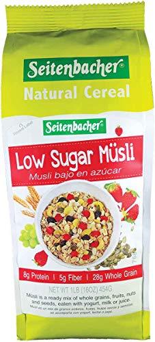 Seitenbacher Low Sugar Muesli Natural Cereal, 16 Ounce