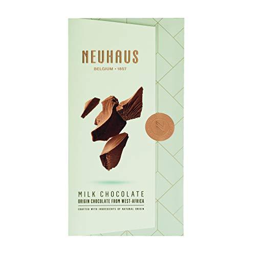 Neuhaus - Tableta de chocolate con leche (32% cacao) de África 100 g - Caja de: 15 unidades