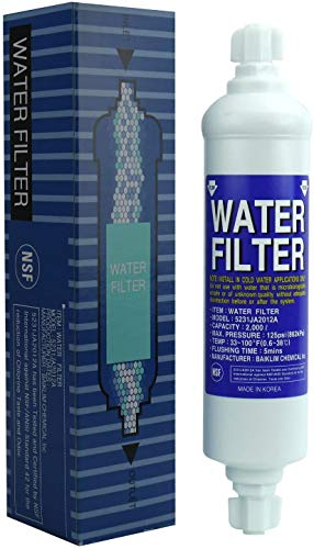 Water Filter 5231JA2012A | Filtro de Agua - compatible con LG 5231JA2012B, BL9808, BL-9808 Cartucho externo para Refrigerator - Frigorífico - Frigo