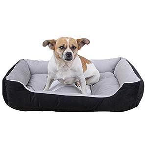 Segle The Dog's Bed Lit orthopédique en Mousse à mémoire de Forme pour Chien soulage l'arthrite des Animaux de Compagnie, Support et Chaud pour Chien, Housses lavables