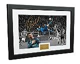 Cristiano Ronaldo Cadre photo dédicacé « The Overhead Goal » A4 30,5 x 20,3 cm