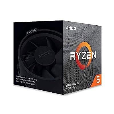 AMD Ryzen 5 3600X - Procesador con ventilador Wraith Spire, Temp. máx.: 95°C 5