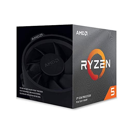 AMD Ryzen 5 3600X - Procesador con ventilador Wraith Spire, Temp. máx.: 95°C 1