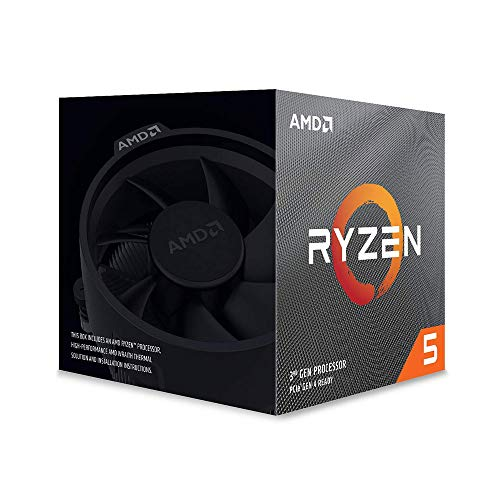 CPU AMD Ryzen 5 3600X, 3.8GHz (4.4GHz Max) AM4 95W 100-100000022BOX