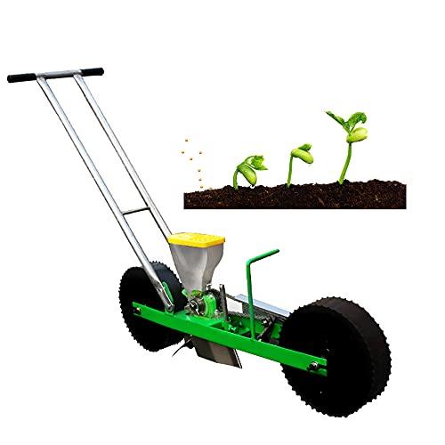GAR Seminatrice da Giardino di Precisione Earthway, Seminatrice Manuale di Precisione, Seminatrice A Spinta da Giardino, Attrezzo da Giardinaggio Regolabile per Giardino