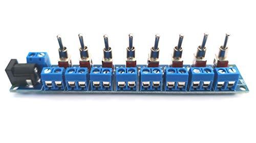 RKpdu2 Stromverteilermodul für Modelleisenbahn Ideal für Beleuchtung Zubehör - Konstruiert