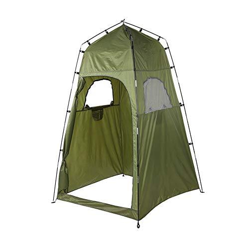Alomejor Tienda de campaña para Acampar al Aire Libre Tienda de Inodoro Playa portátil Refugio para el Sol con Bolsa de Transporte Vestuario de privacidad Mochila al Aire Libre Tiendas de baño