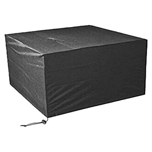 Cosanter Staubschutz Abdeckung Schutzhülle Abdeckung für Gartenmöbel Gartenstuhl, Gartentisch, Sitzgruppe Wasserdicht, UV-geschützt, 123x123x74cm