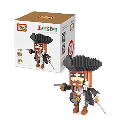 Outletdelocio. LOZ 9762. Kit de construccion miniaturizada. Jack Sparrow. 670 Piezas