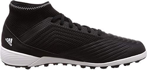 adidas Herren Predator Tango 18.3 Tf Fußballschuhe, Schwarz (Negbás/Ftwbla 000), 41 1/3 EU