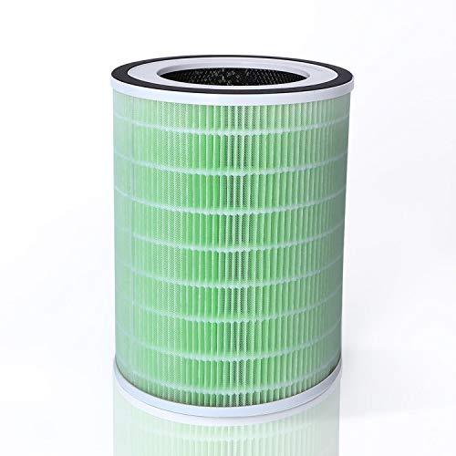 Taylor Swoden - REPUESTO de purificador de aire Fresh Air   Filtro HEPA H13   Carbón activado, algodón antibacteriano   Elimina olores   Mejora la calidad del aire   Perfecto para alérgicos.