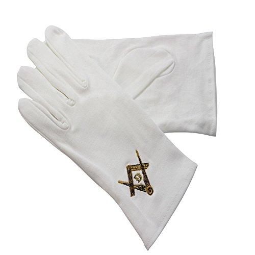 Gants Noirs et Blancs Herren Handschuhe