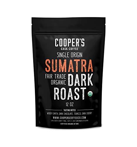 Organic Dark Roast Sumatra,...