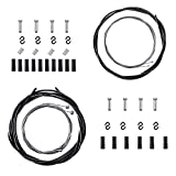 Cable Frein Velo - Universel Gaine Cable Velo 1 Kit Frein Velo + 1Cable Vitesse VTT Cable Velo...