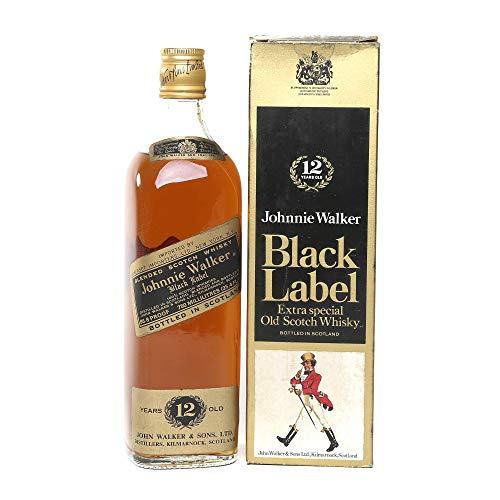 Johnnie Walker Black Label 1970s Whisky