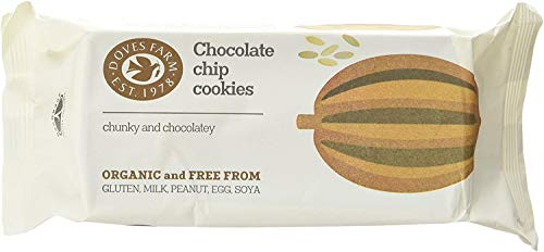 Doves Farm - Chocolate Chip Cookies - 180g (Case of 12)