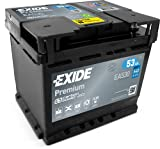 - -Exide EA 530 12V 53 Ah 530A