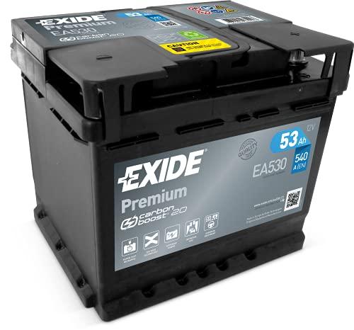 Exide EA530 Premium Carbon Boost Autobatterie 12V 53Ah 540A