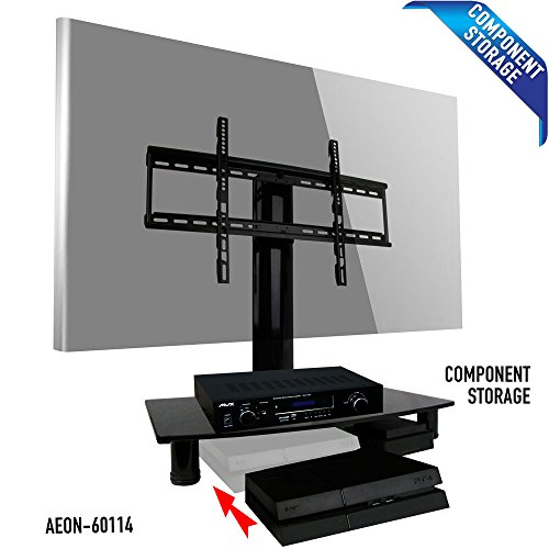 Universal TV Stand with Storage - fits Samsung, Vizio, LG, Sony and more