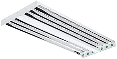Lithonia Lighting 6-Light T8 Linear Fluorescent High Bay Fixture, 32 watts, White