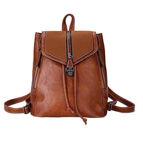 profesional ranking ALIKEEY-Bag Mochila de moda para todos los días, bolso de hombro de cuero suave … elección