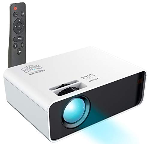 SceneLights LED Heim Beamer: LED-LCD-Beamer mit Mediaplayer, 1280 x 720 (HD), 2.000 lm, 60 Watt (Home-Beamer)