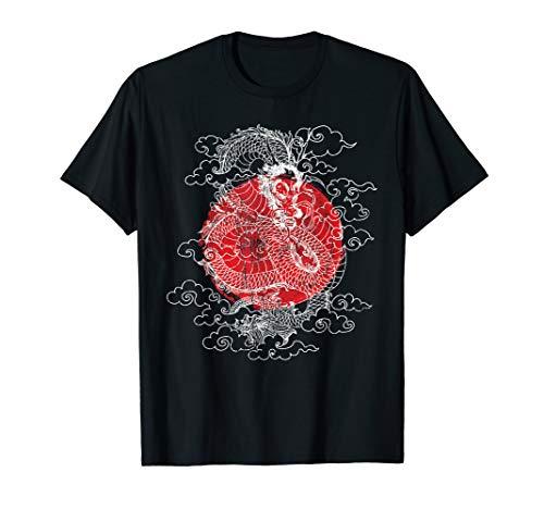 Japan Drache Retro Vintage T-Shirt