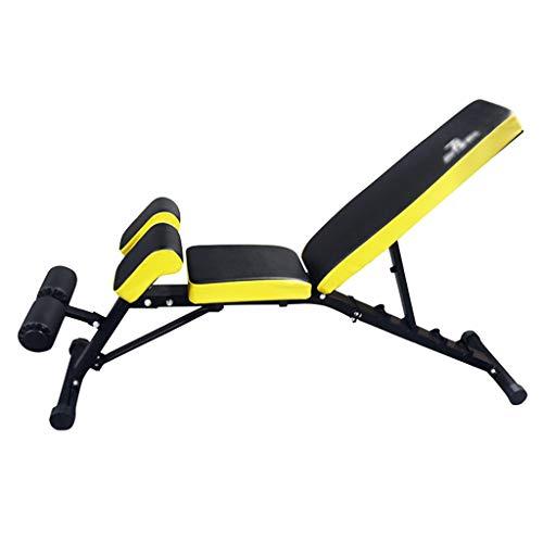 Verstellbare Bänke Kurzhantelhocker Bauchmuskeltrainingsstühle Multifunktionale Profi-Bänke Bänke für Heimtrainingsgeräte
