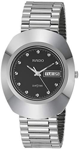 Rado DiaStar Original Quartz Watch with Stainless Steel Strap, Silver, 21...