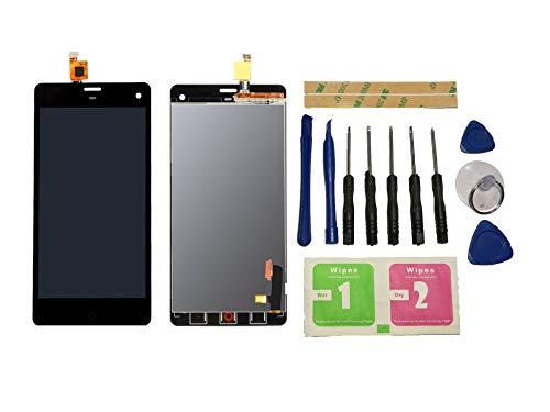 Flügel per ZTE Nubia Z7 Mini NX507J Schermo Display LCD Display Nero Touch Screen Digitizer (Senza Frame) di Ricambio e Strumenti Gratuiti