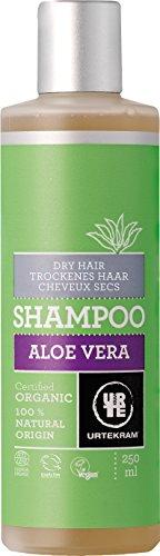 Urtekram Champú de Aloe Vera BIO, cabello seco, 250ml