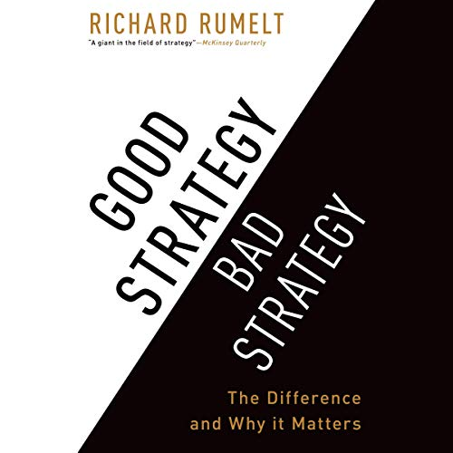 『Good Strategy/Bad Strategy』のカバーアート