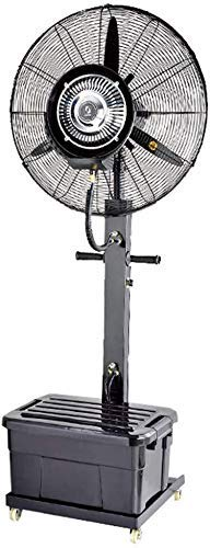 Floor fan JHome-Pedestal Fans Cooling Fan Misting sproeibevochtiger Quiet Tower Atomisatie Commercial Vertical schommelend ventilator Industrial Rotating bevochtiging ventilator (Grootte: 65cm (190W))
