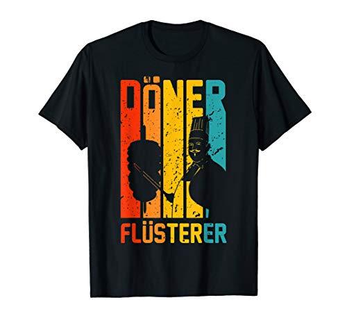 Döner Flüsterer - Lustiges Retro Döner Kebap Imbiss T-Shirt
