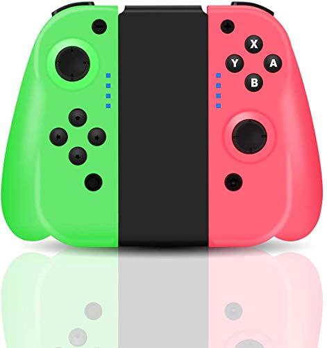 Wireless Controller für Switch, Maegoo Switch Controllers Gamepad Joystick Joypad für Switch, Bluetooth Wireless Game Controller mit Dual Shock Vibration, 6 Gyro Axis Bildschirmfoto