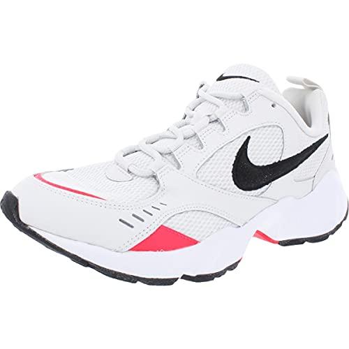 Nike Air Heights, Zapatillas de Trail Running Hombre, Multicolor (Platinum Tint/Black/Red Orbit/White 1), 42 EU