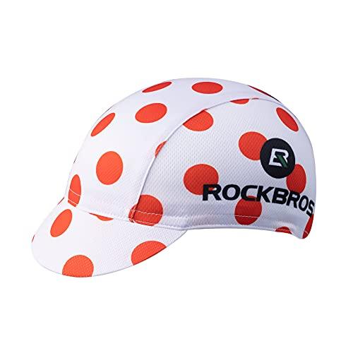 HYSENM Cappelli Cappellino sotto Casco Ciclismo Tour de France Cappellini Poliestere Traspirante Assorbi-Sudore