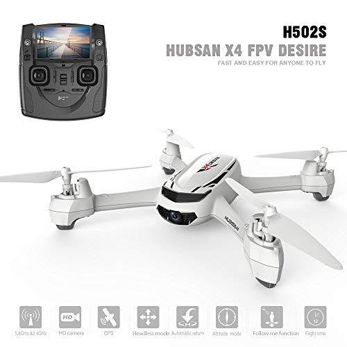 Hubsan H502S X4 Drone GPS 720P HD Cámara 5.8Ghz FPV 2.4Ghz RC Cuadricóptero