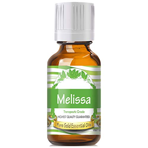Pure Gold Melissa Essential Oil, 100% Natural & Undiluted, 30ml