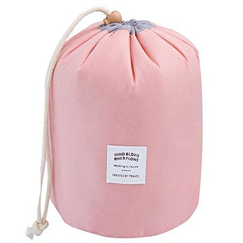 Tancendes Kosmetiktasche Wasserdichte Makeup-Tasche Multifunktion Reise Kulturtasche Rosa